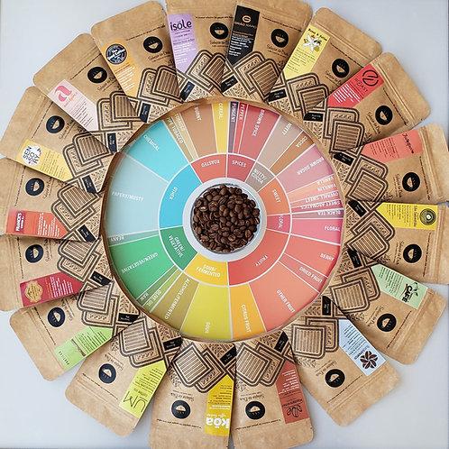 Kit 2,1 kg CoffeeLover - 21 cafés especiais fantásticos com 100g cada(TODOS)