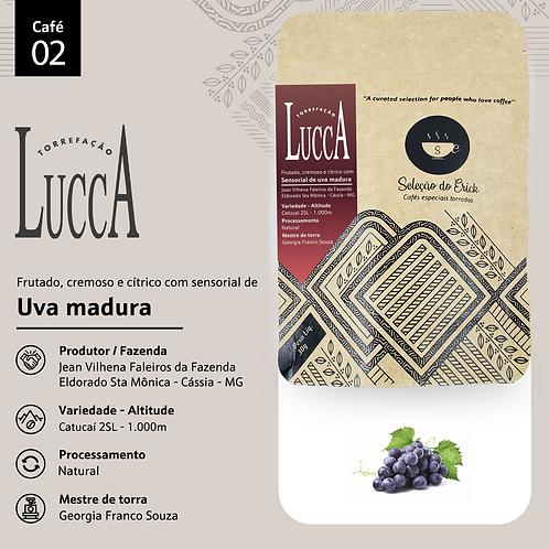 Café 2 - Lucca Torrefação - Sensorial Uva - 100g