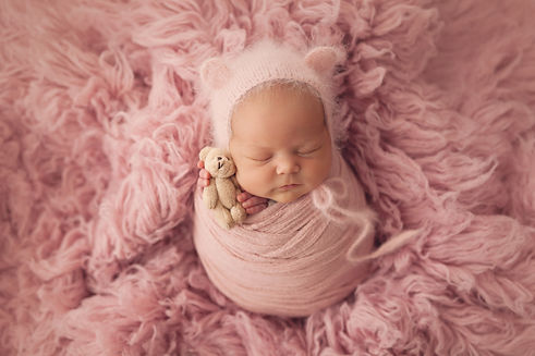 Adorable newborn 10 day old baby girl.jp