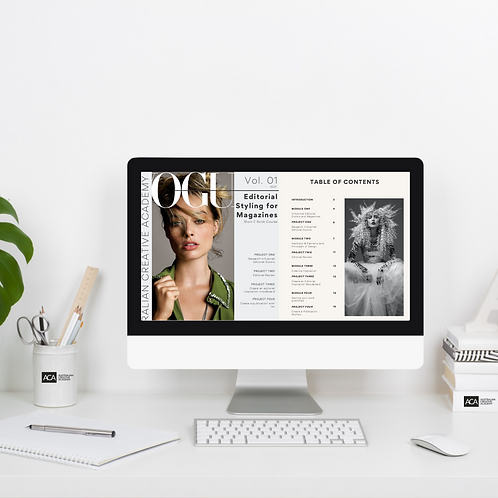 Editorial Styling for Magazines ShortCourse