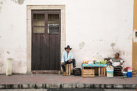 Valladolid Street Vendors, Mexico