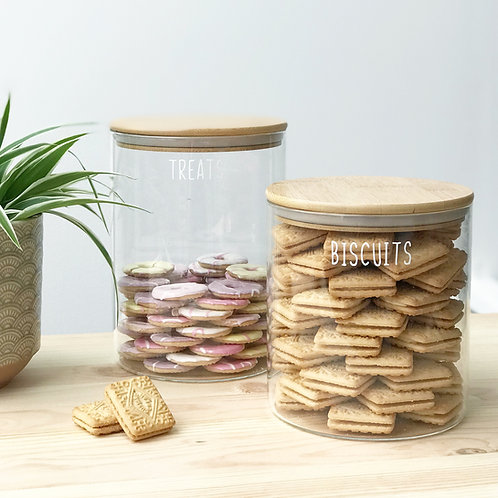 Wide mouth Bamboo Jar