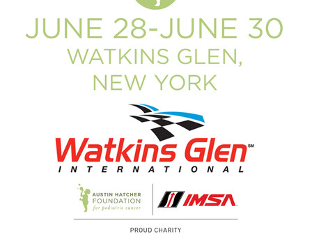 Austin Hatcher Foundation At The Glen: Three Fundraising Auctions Set For Watkins Glen International