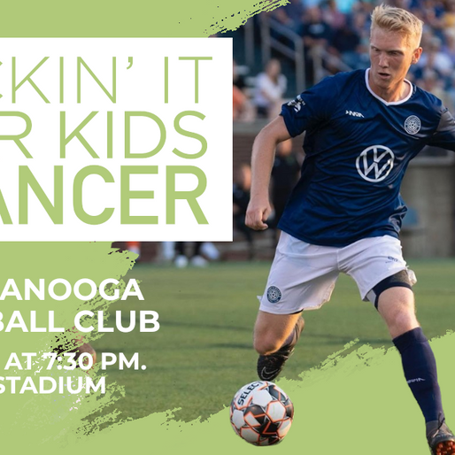 Austin Hatcher Foundation's Kickin' It For Kids With Cancer Initiative Returns With Chattanooga Foot
