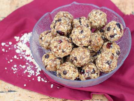 Healthy Lifestyle Recipes - No Bake Energy Bites