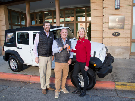 Austin Hatcher Foundation for Pediatric Cancer Partnering With Mtn. View Auto Group, Omix-ADA, Truck