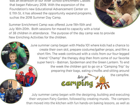 Inaugural Summer Camp Re-Cap