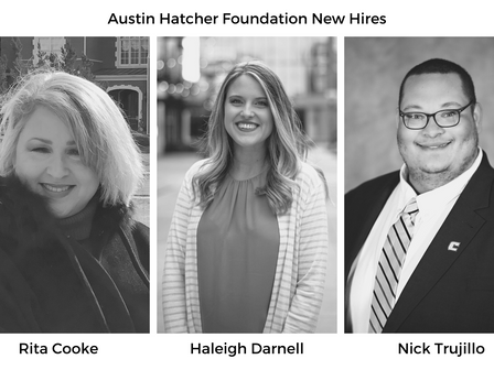 Austin Hatcher Foundation for Pediatric Cancer Adds Three New Staff Members