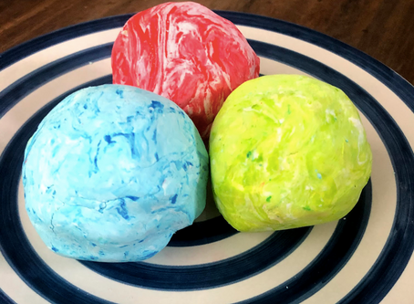 Enrichment Activity - Homemade No-Cook Playdough