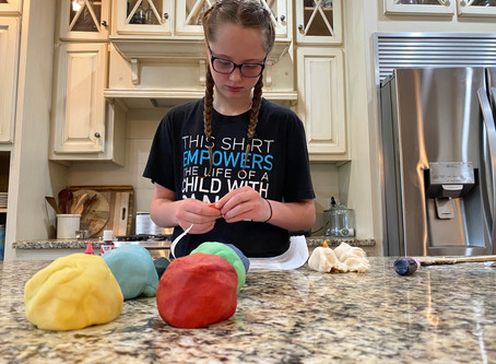 Enrichment Activity - Homemade Playdough