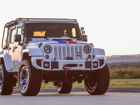 HURST Jeepster Commando Built by Pediatric Cancer Patients Raises Over $150,000 at Auction, To Benef