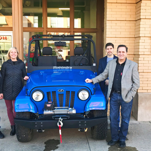 Mahindra Donates ROXOR Off-Road Vehicle to Austin Hatcher Foundation