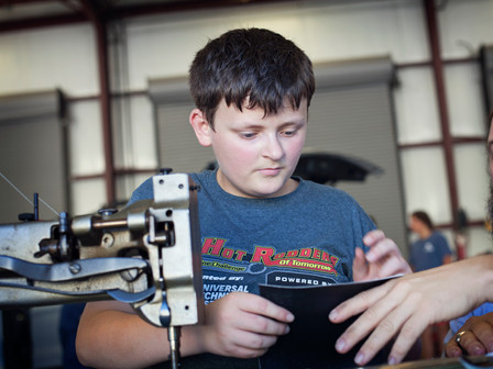 Tools of Recovery: Industrial Arts Therapy Fills a Void in Pediatric Cancer Treatment