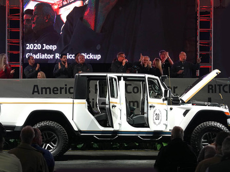 IASO Jeep Gladiator Rubicon Built by Pediatric Cancer Patients Raises $170,000 After Trip to Scottsd