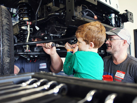 Austin Hatcher Foundation and Leake Auction Company to sell 2017 HURST Jeep Commando Lot 9001 Nov. 1