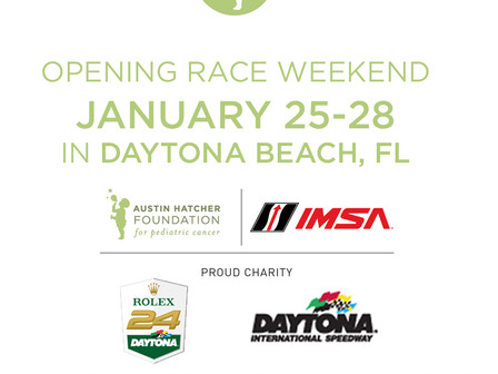 Austin Hatcher Foundation Schedules Full Slate of Activities During Rolex 24 At DAYTONA Week