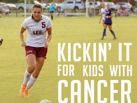 Austin Hatcher Foundation to Hold Kickin' It For Kids With Cancer Game in Partnership With Lee Unive