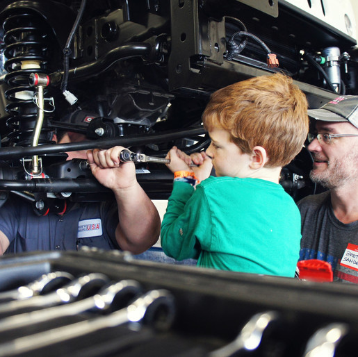 Pediatric Cancer Patients Begin Building Newest Austin Hatcher Foundation Therapy Vehicle And Instal