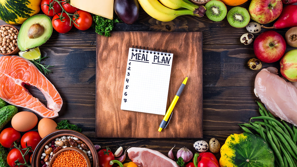 Phone Consultation (60 mins) and 7 day meal plan