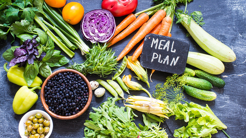 Phone consultation (60mins) and 5 day meal plan