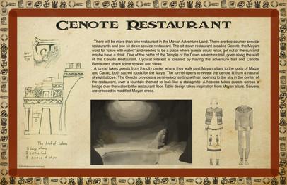 Mayan Adventure.Time Tours.Cenote Restaurant Development
