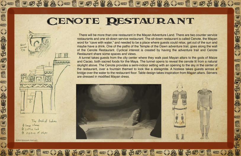 Mayan Adventure.Time Tours.Cenote Restaurant Development