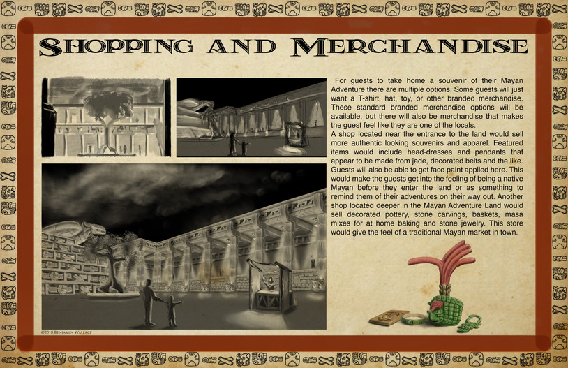 Mayan Adventure Land.Time Tours.Shopping Development