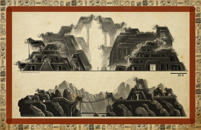 Mayan Adventure Land.Time Tours.Elevation views