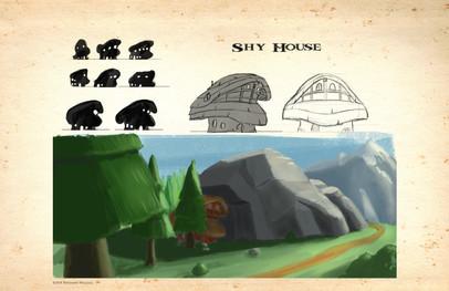 Shy house
