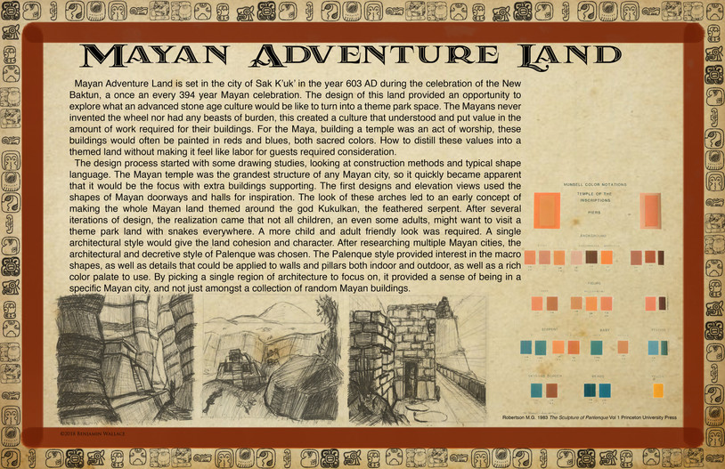 Mayan Adventure Land.Time Tours.Land Development