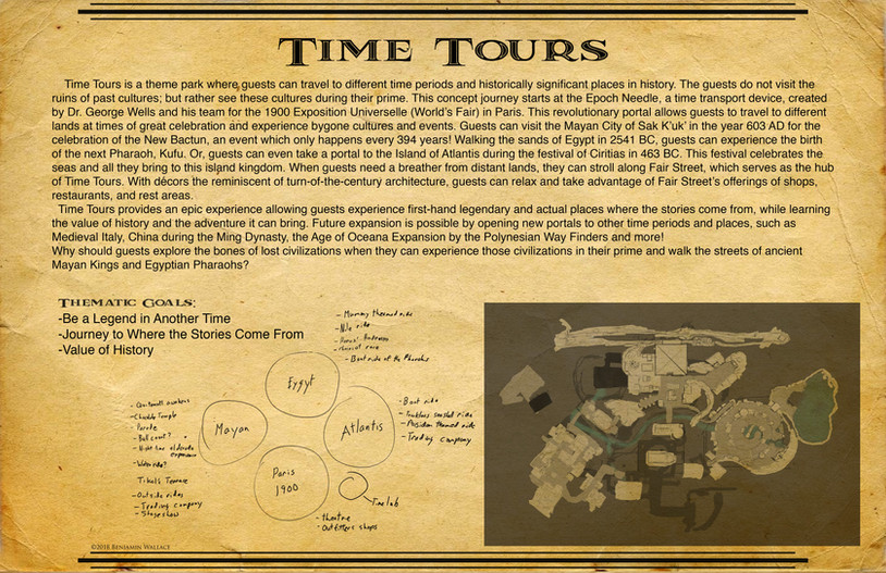 Time Tours.Thematic Goals and Park Development