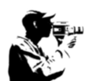 camera man silhouette