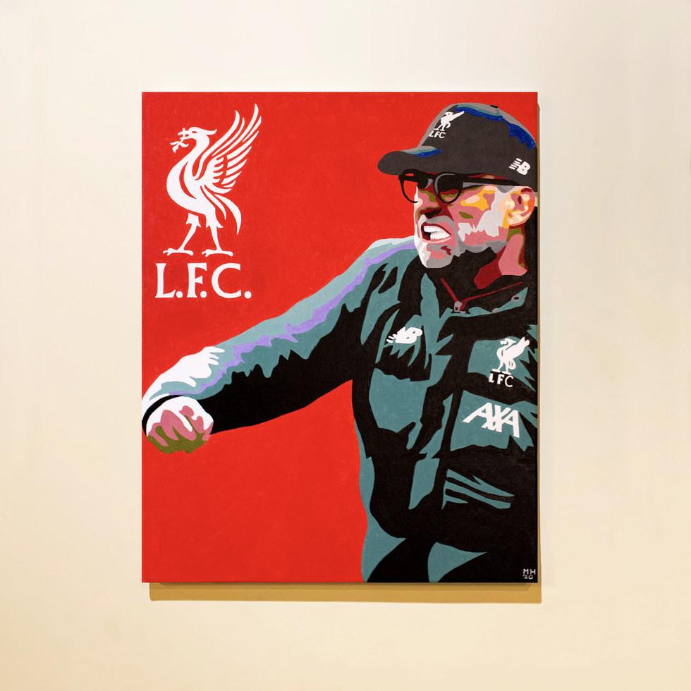 Jürgen Klopp Liverpool Portrait