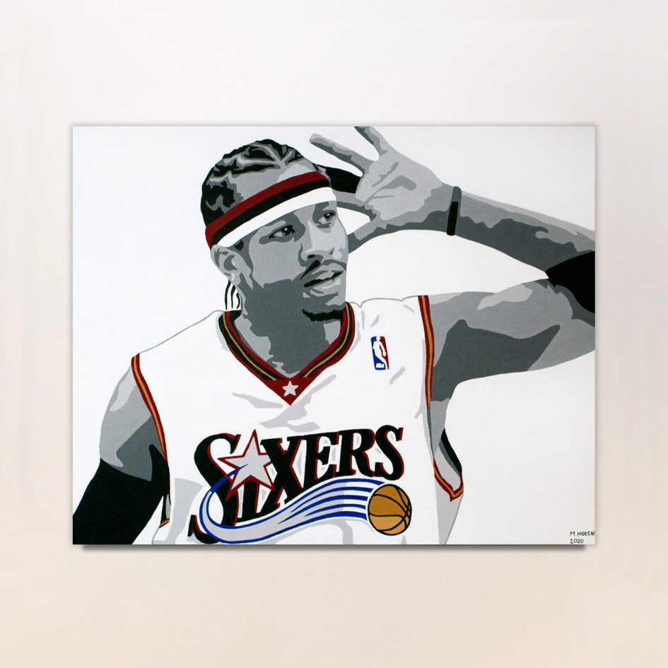 The Answer (Allen Iverson Portrait)