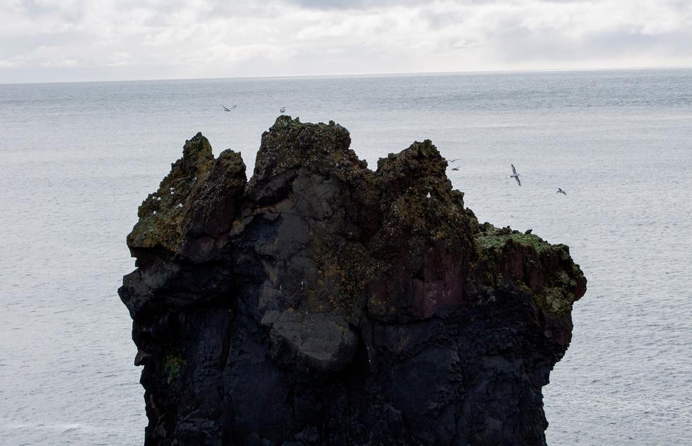 Distant Cliff