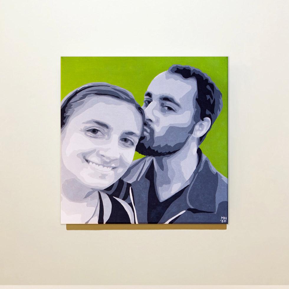 Josh & Ilana Portrait