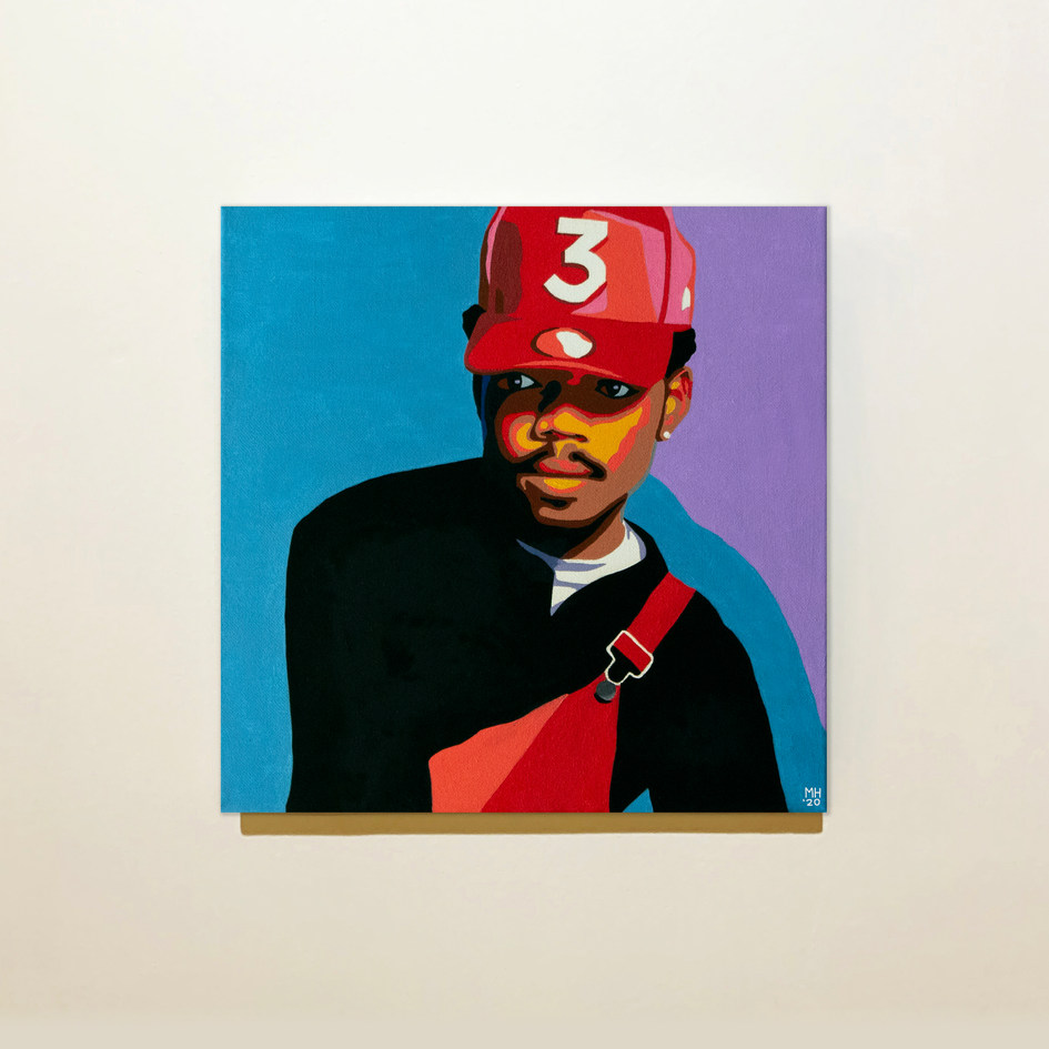 Chance The Rapper Portrait