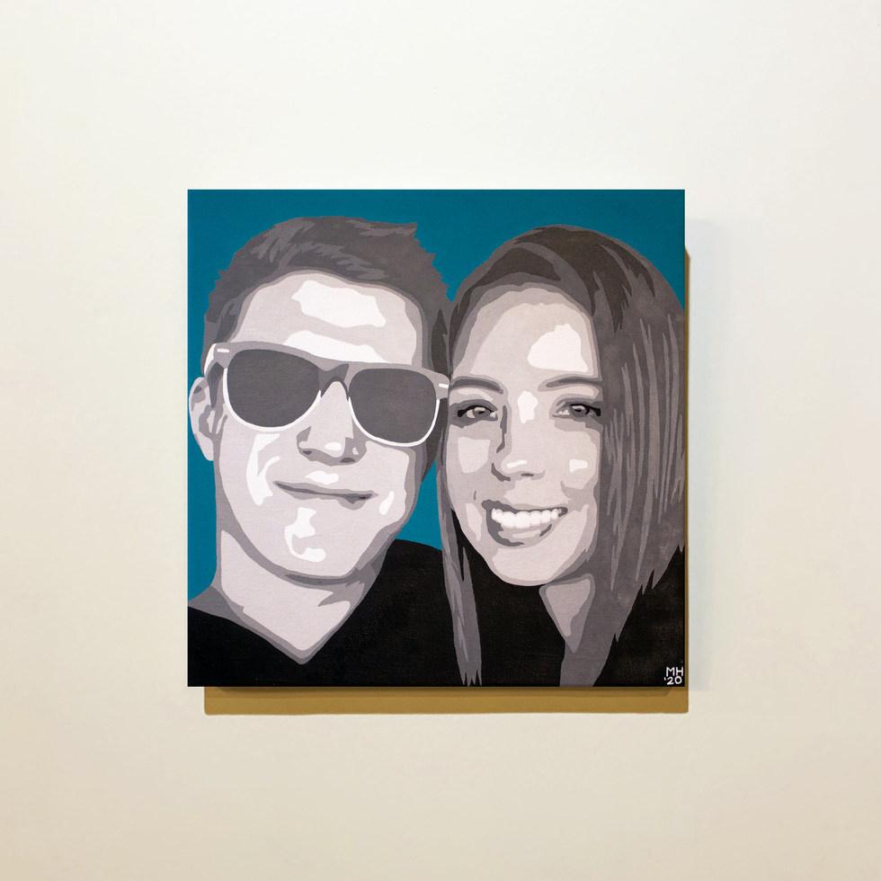 Pat & Stephy Portrait