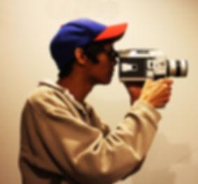 old school camera man