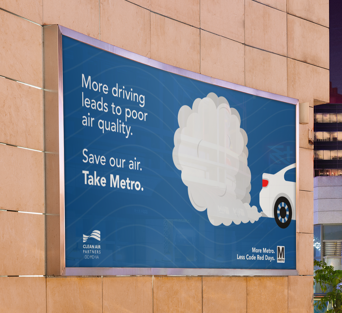 DC Metro Sustainability Ad Campaign