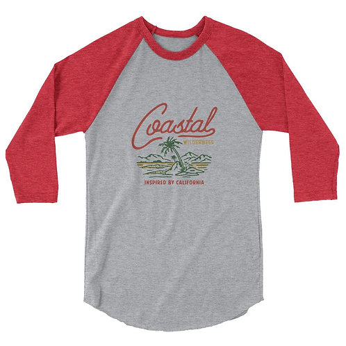 Retro Palm Raglan