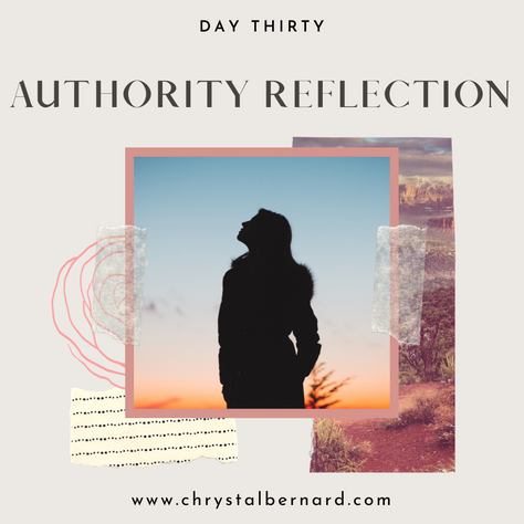 Proverbs 31 Challenge Day 30: Authority Reflection