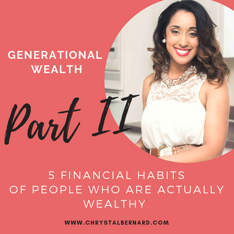 5 Financial Habits of People Who Are Actually Wealthy