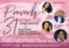Proverb 31 Women's Club Conference Flyer