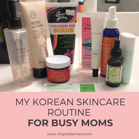 Korean Skin Care for Busy Moms