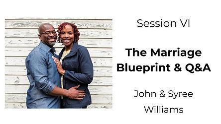 John & Syree Williams - The Marriage Blu