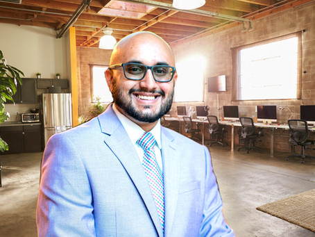 Realtor Simon Saleh Closing Deals for his Clients During a Competitive Real Estate Market.