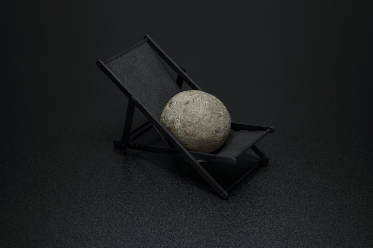 le transat  et la pierre