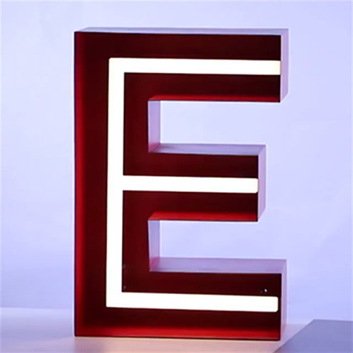 Silicon neon tube sign letter