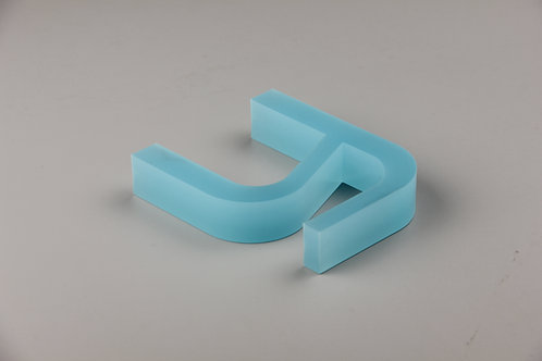 PMMA cut letter,flat cut letter